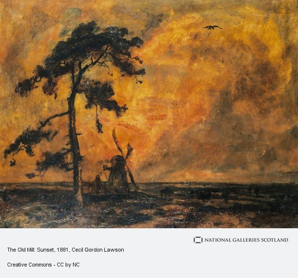 Cecil Gordon Lawson, The Old Mill: Sunset