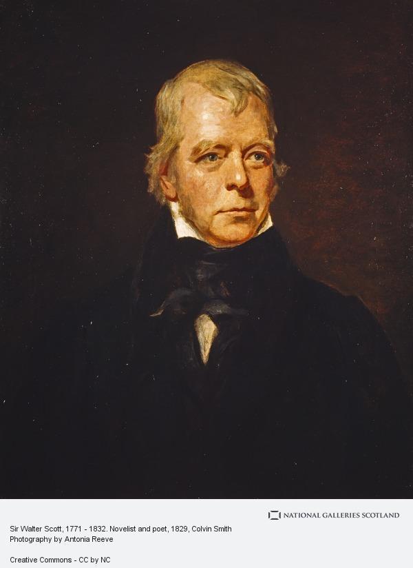 Colvin Smith, Sir Walter Scott, 1771 - 1832. Novelist and poet