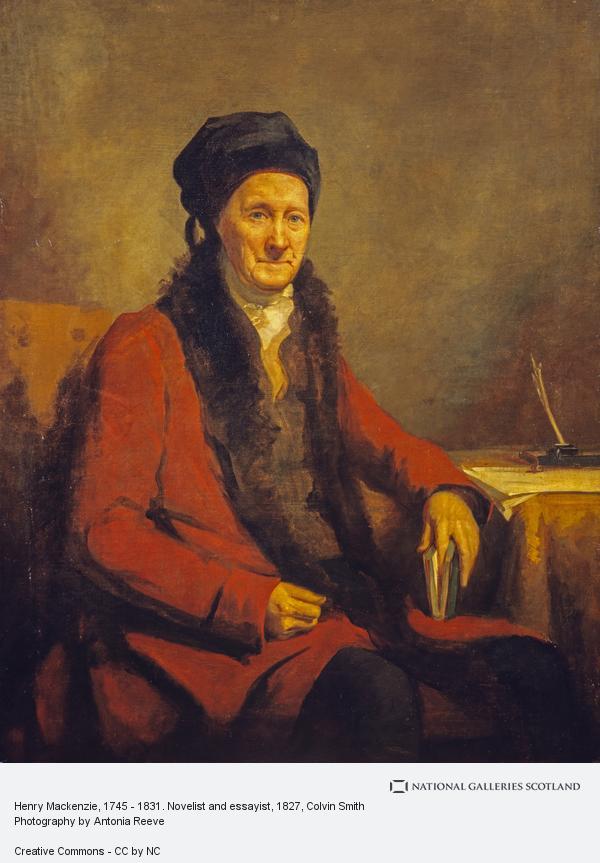 Colvin Smith, Henry Mackenzie, 1745 - 1831. Novelist and essayist