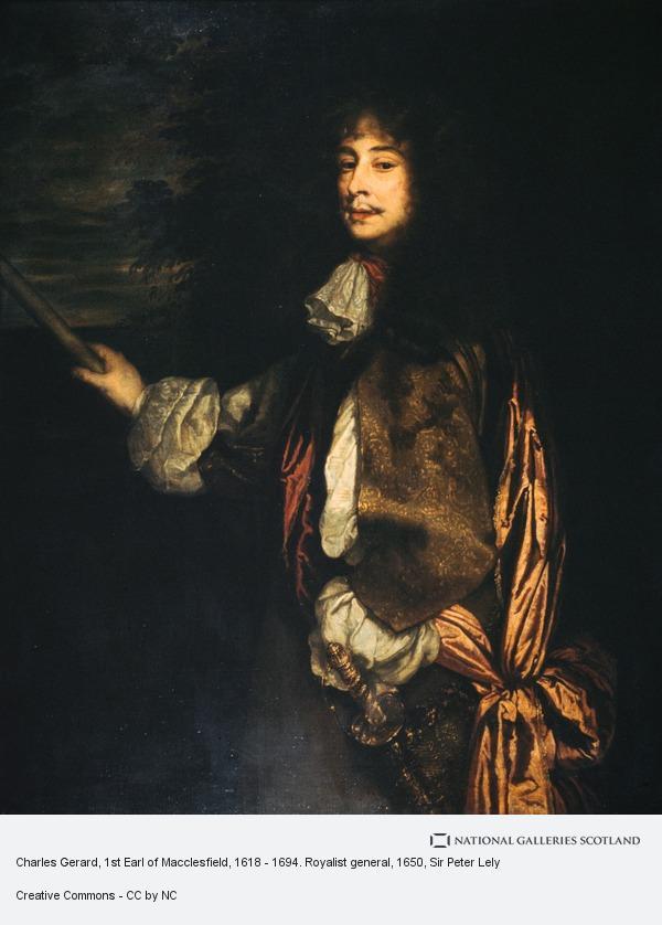 Sir Peter Lely, Charles Gerard, 1st Earl of Macclesfield, 1618 - 1694. Royalist general