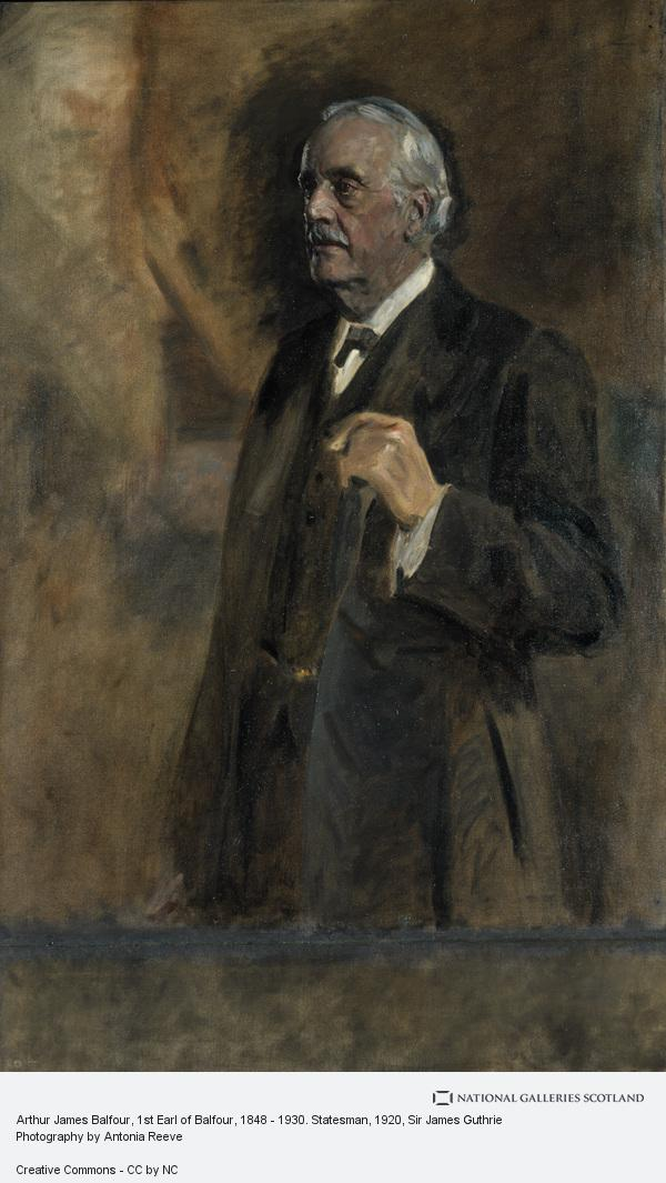 Sir James Guthrie, Arthur James Balfour, 1st Earl of Balfour, 1848 - 1930. Statesman