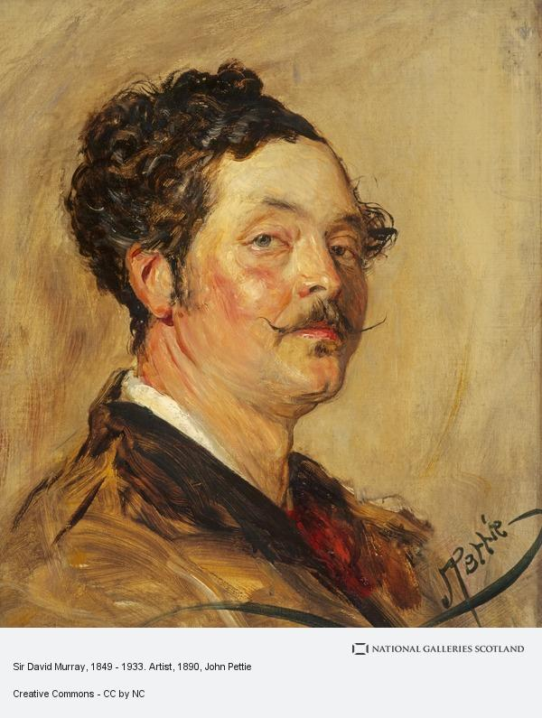 John Pettie, Sir David Murray, 1849 - 1933. Artist