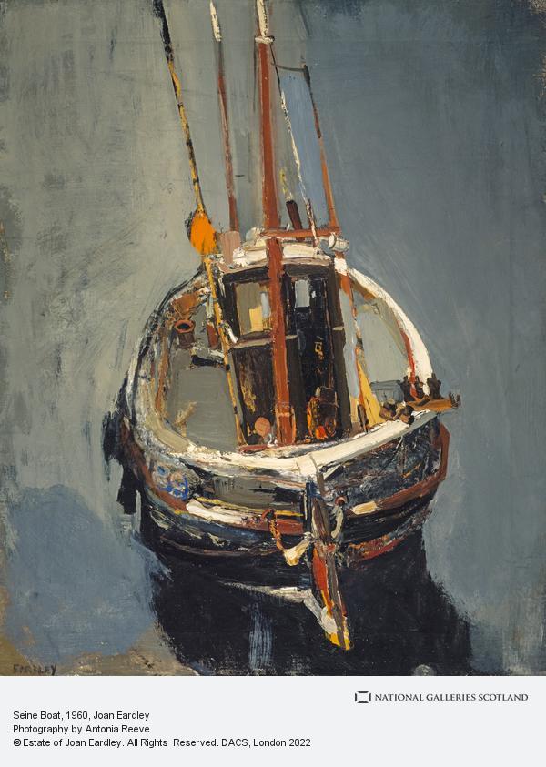 Joan Eardley, Seine Boat (About 1960)