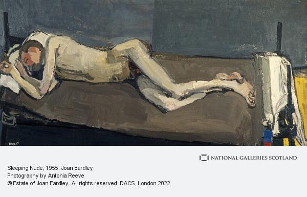 Joan Eardley, Sleeping Nude (1955)
