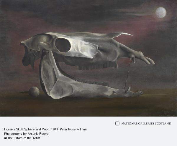 Peter Rose Pulham, Horse's Skull, Sphere and Moon