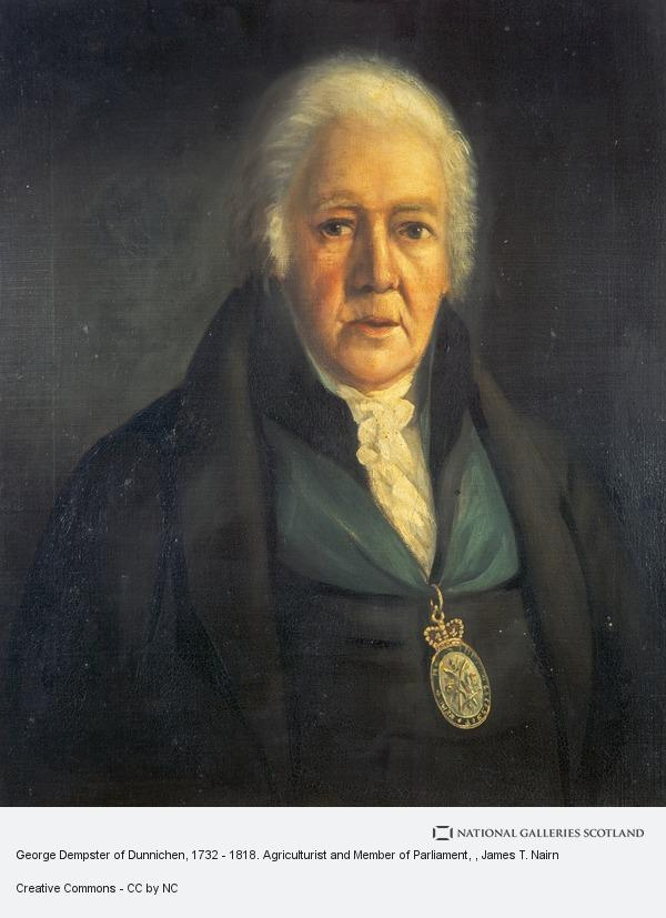 James T. Nairn, George Dempster of Dunnichen, 1732 - 1818. Agriculturist and Member of Parliament