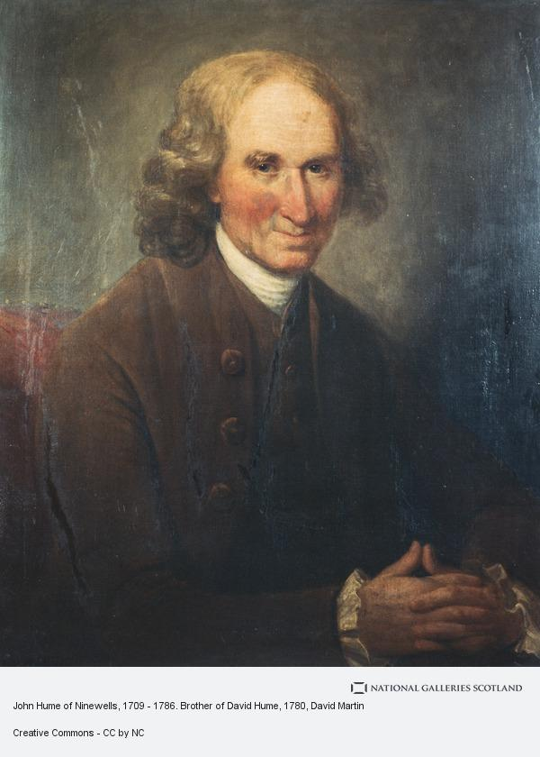 David Martin, John Hume of Ninewells, 1709 - 1786. Brother of David Hume