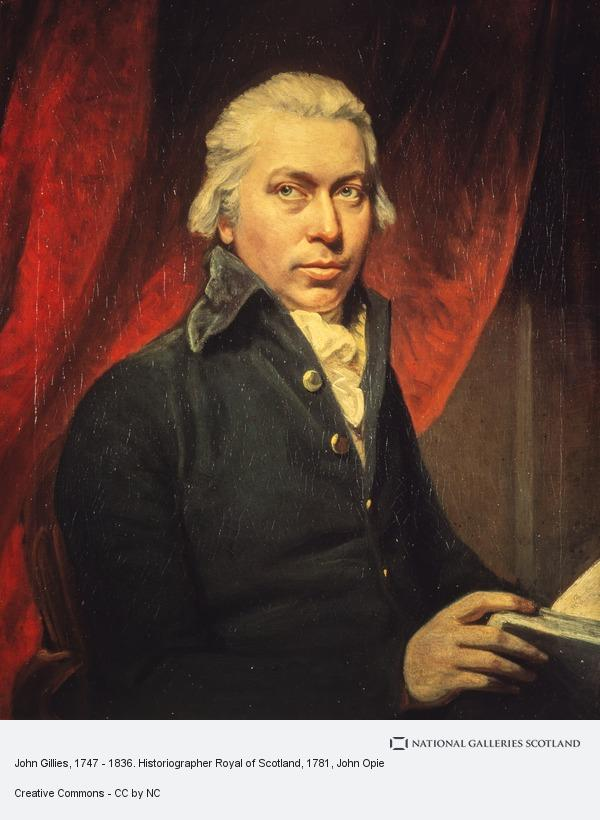 John Opie, John Gillies, 1747 - 1836. Historiographer Royal of Scotland