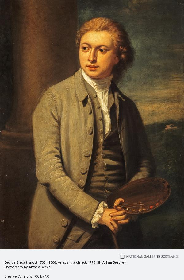 Sir William Beechey, George Steuart, about 1735 - 1806. Artist and architect