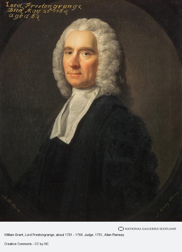 Allan Ramsay, William Grant, Lord Prestongrange, about 1701 - 1764. Judge