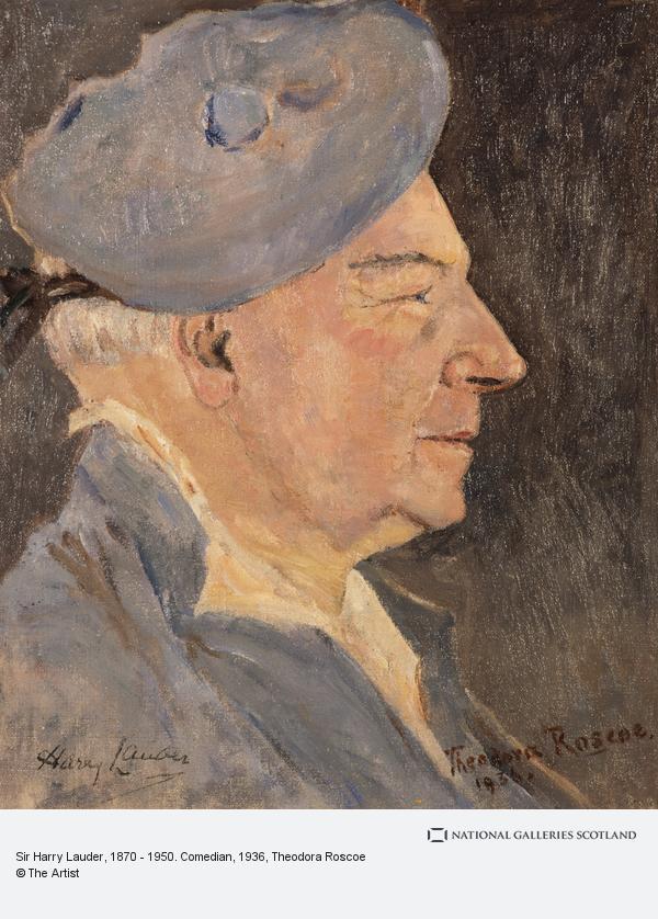 Theodora Roscoe, Sir Harry Lauder, 1870 - 1950. Comedian