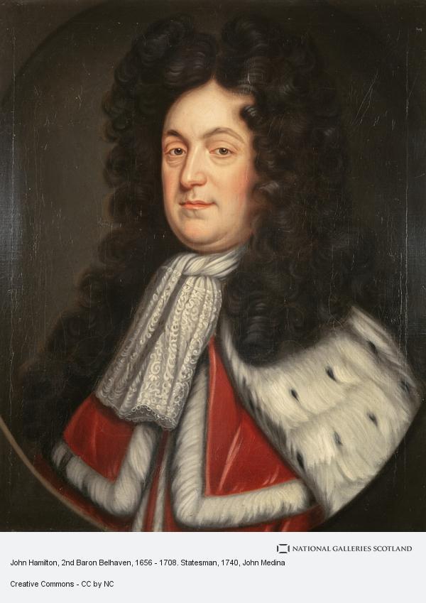 John Medina, John Hamilton, 2nd Baron Belhaven, 1656 - 1708. Statesman