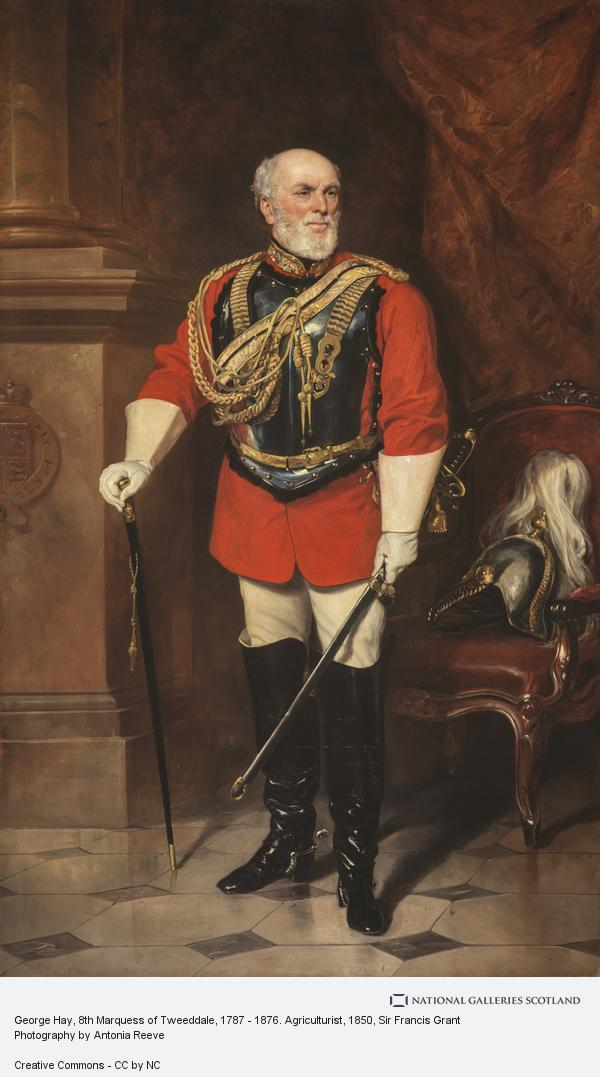 Sir Francis Grant, George Hay, 8th Marquess of Tweeddale, 1787 - 1876. Agriculturist