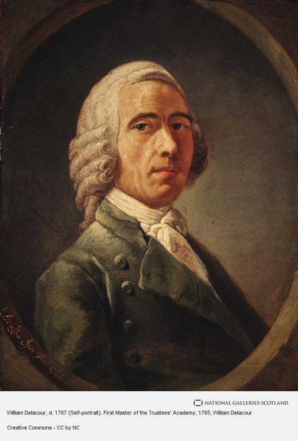 William Delacour, William Delacour, d. 1767 (Self-portrait). First Master of the Trustees' Academy