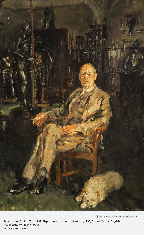 Thomas Cantrell Dugdale, Robert Lyons Scott, 1871 - 1939. Shipbuilder and collector of armour