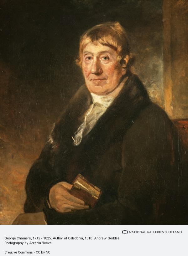 Andrew Geddes, George Chalmers, 1742 - 1825. Author of Caledonia