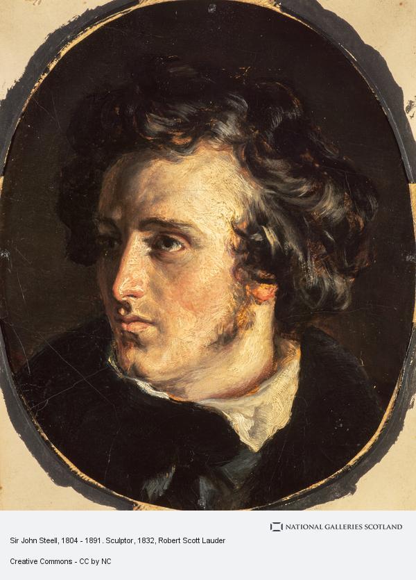 Robert Scott Lauder, Sir John Steell, 1804 - 1891. Sculptor