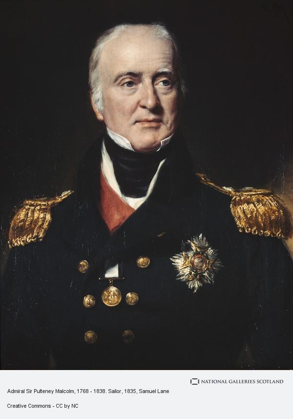 Samuel Lane, Admiral Sir Pulteney Malcolm, 1768 - 1838. Sailor
