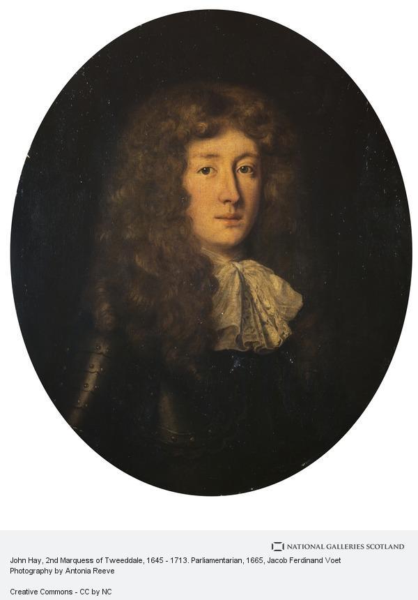 Jacob Ferdinand Voet, John Hay, 2nd Marquess of Tweeddale, 1645 - 1713. Parliamentarian