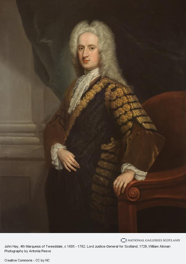 William Aikman, John Hay, 4th Marquess of Tweeddale, c 1695 - 1762. Lord Justice-General for Scotland