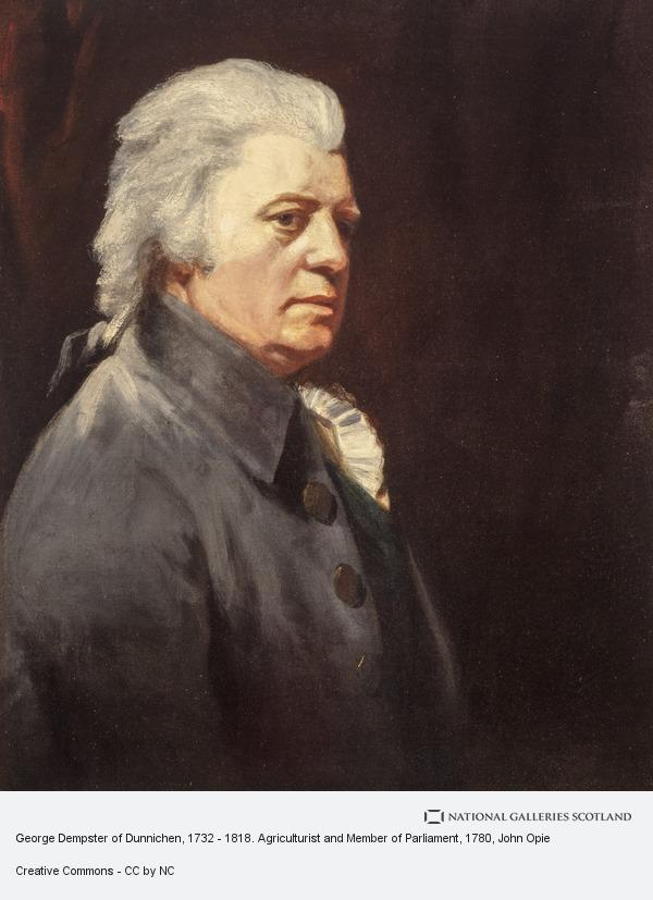 John Opie, George Dempster of Dunnichen, 1732 - 1818. Agriculturist and Member of Parliament