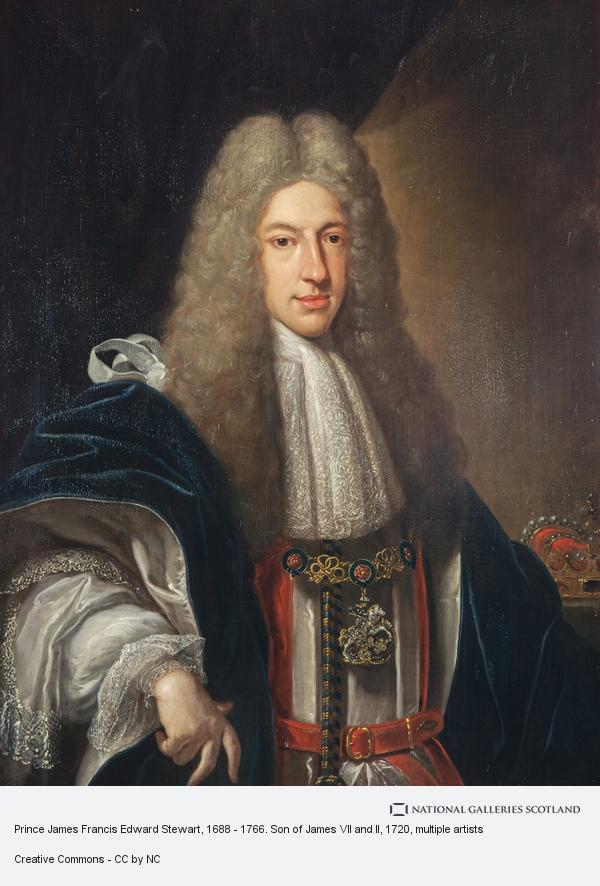 Francesco Trevisani, Prince James Francis Edward Stuart, 1688 - 1766. Son of James VII and II (1720)
