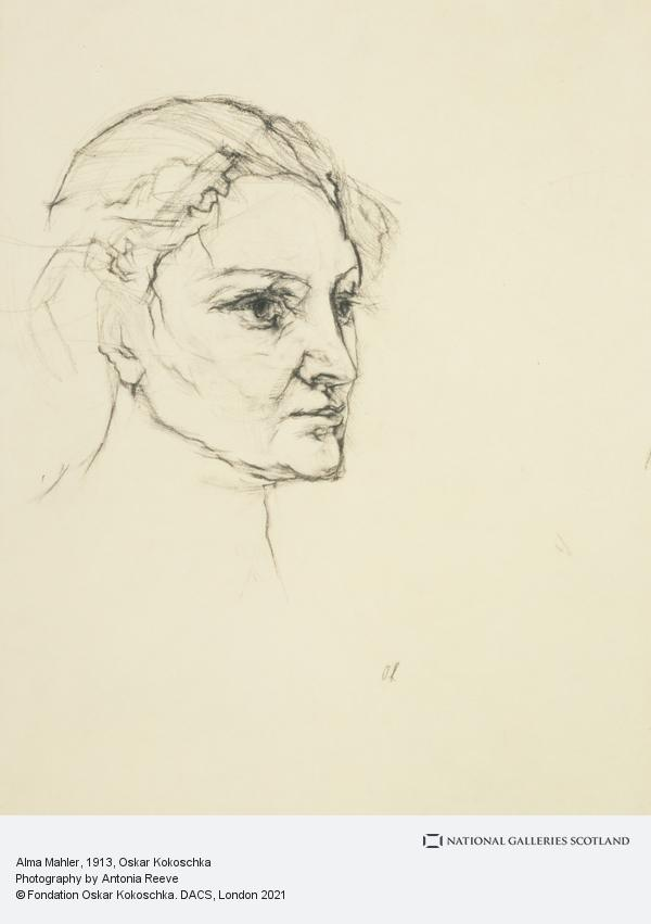 Oskar Kokoschka, Alma Mahler