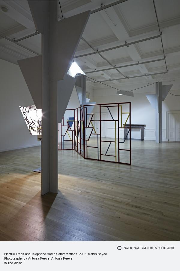 Martin Boyce, Electric Trees and Telephone Booth Conversations