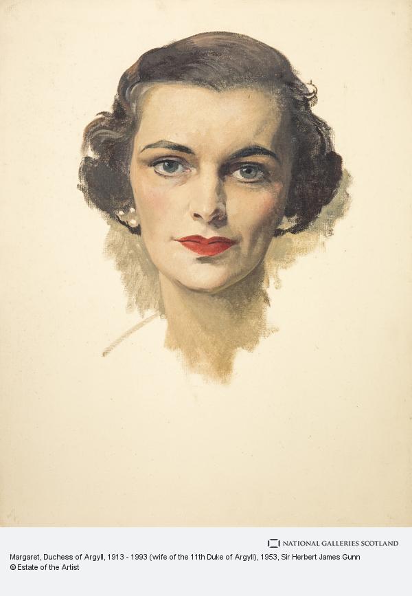 Sir Herbert James Gunn, Margaret, Duchess of Argyll, 1913 - 1993 (wife of the 11th Duke of Argyll)