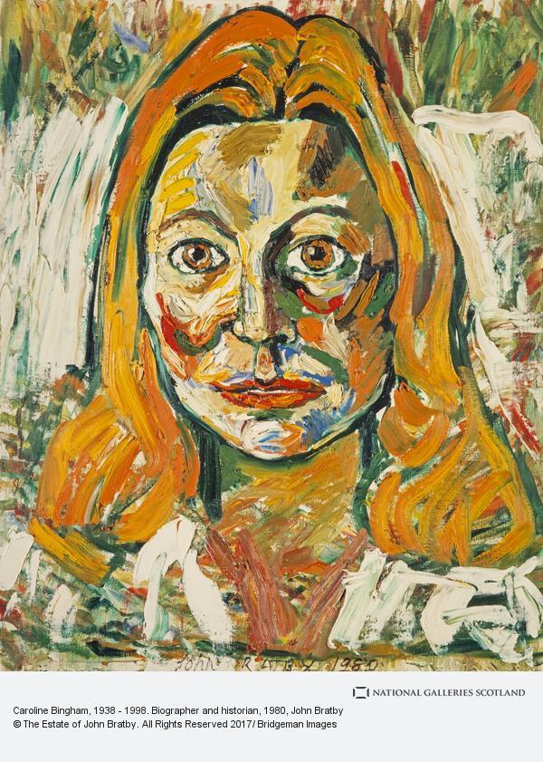 John Bratby, Caroline Bingham, 1938 - 1998. Biographer and historian
