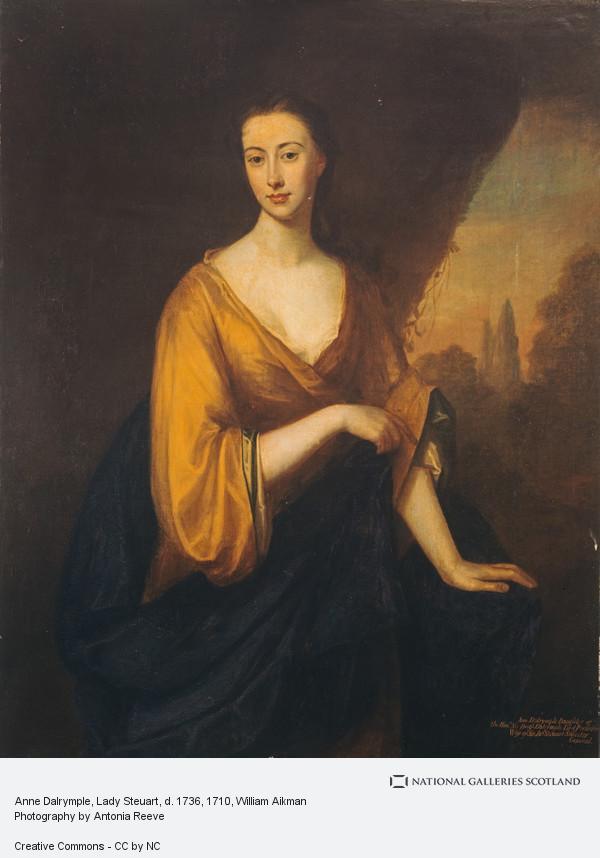 William Aikman, Anne Dalrymple, Lady Steuart, d. 1736
