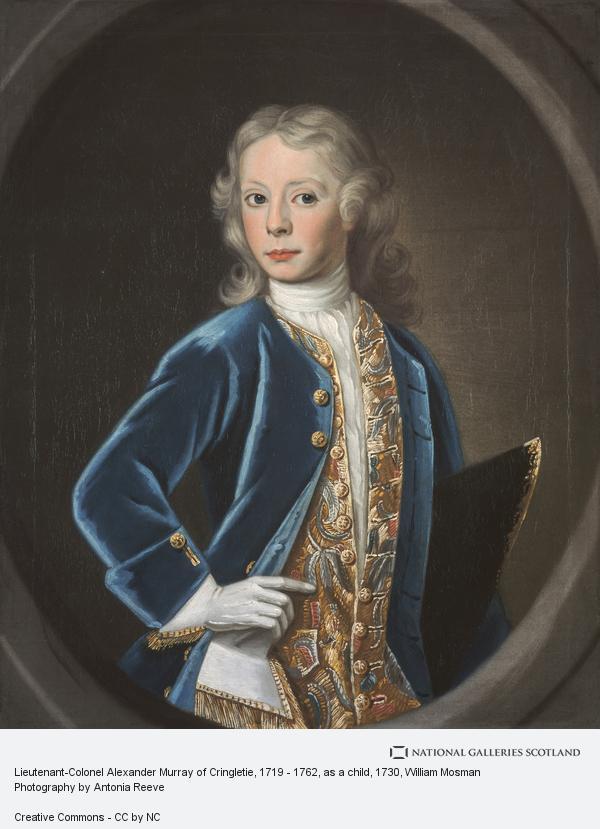 William Mosman, Lieutenant-Colonel Alexander Murray of Cringletie, 1719 - 1762, as a child