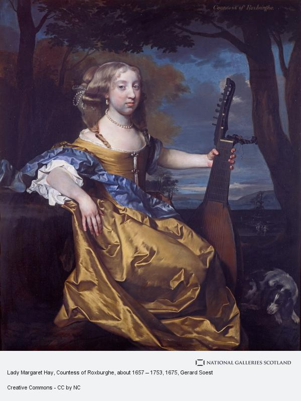 Gerard Soest, Lady Margaret Hay, Countess of Roxburghe, about 1657 – 1753