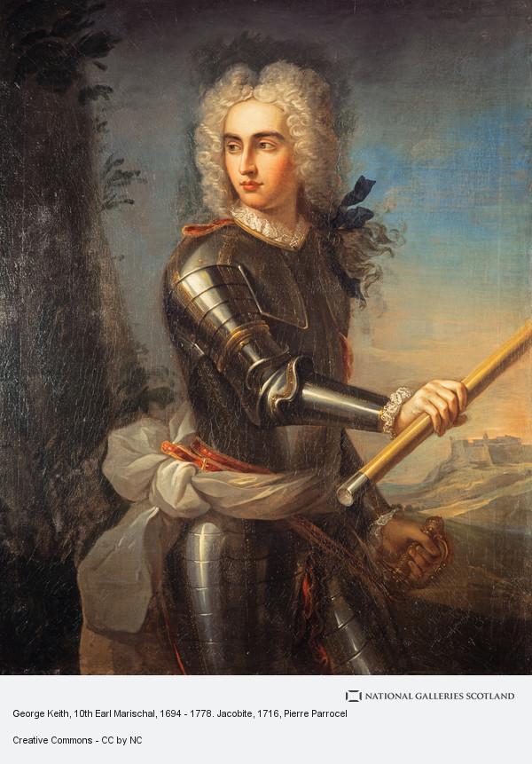 Pierre Parrocel, George Keith, 10th Earl Marischal, 1694 - 1778. Jacobite