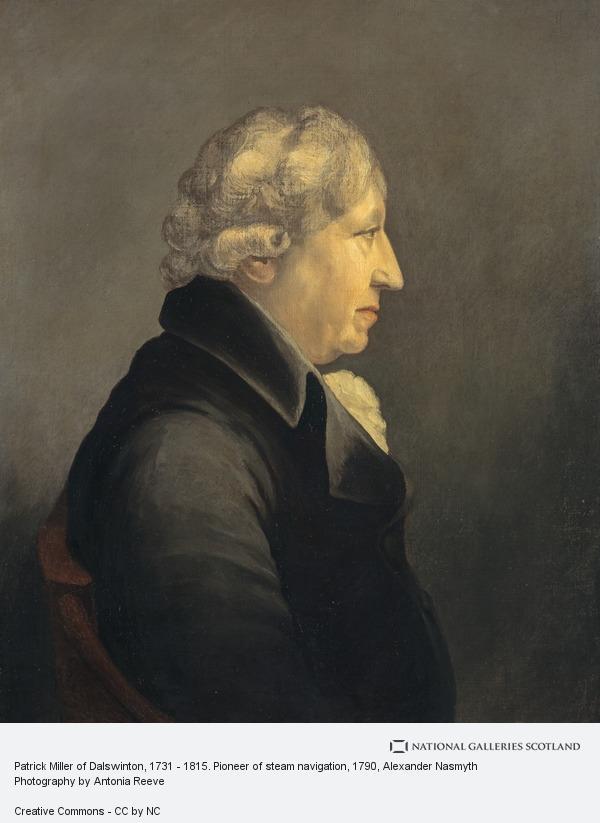Alexander Nasmyth, Patrick Miller of Dalswinton, 1731 - 1815. Pioneer of steam navigation