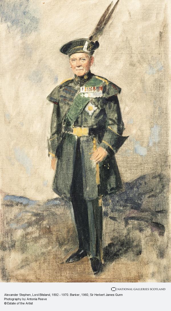 Sir Herbert James Gunn, Alexander Stephen, Lord Bilsland, 1892 - 1970. Banker
