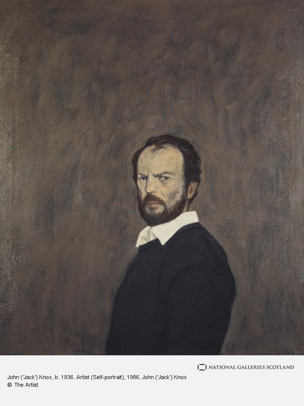 John ('Jack') Knox, John ('Jack') Knox, b. 1936. Artist (Self-portrait)