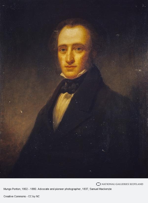 Samuel Mackenzie, Mungo Ponton, 1802 - 1880. Advocate and pioneer photographer