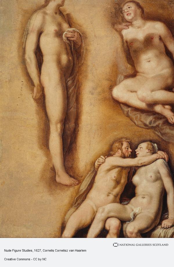 Cornelis Cornelisz van Haarlem, Nude Figure Studies