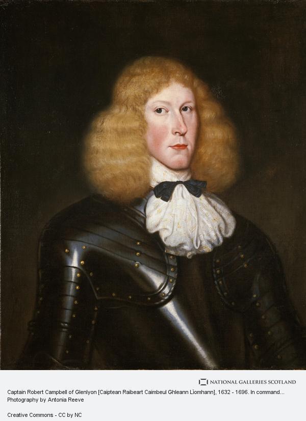 David Scougall, Captain Robert Campbell of Glenlyon [Caiptean Raibeart Caimbeul Ghleann Lìomhann], 1632 - 1696. In command at Glencoe (About 1654)