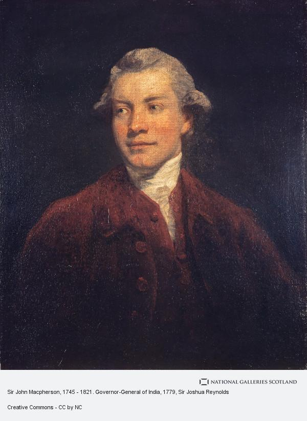 Sir Joshua Reynolds, Sir John Macpherson, 1745 - 1821. Governor-General of India