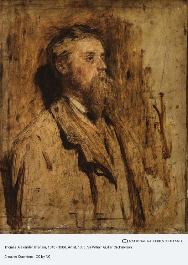 Sir William Quiller Orchardson, Thomas Alexander Graham, 1840 - 1906. Artist