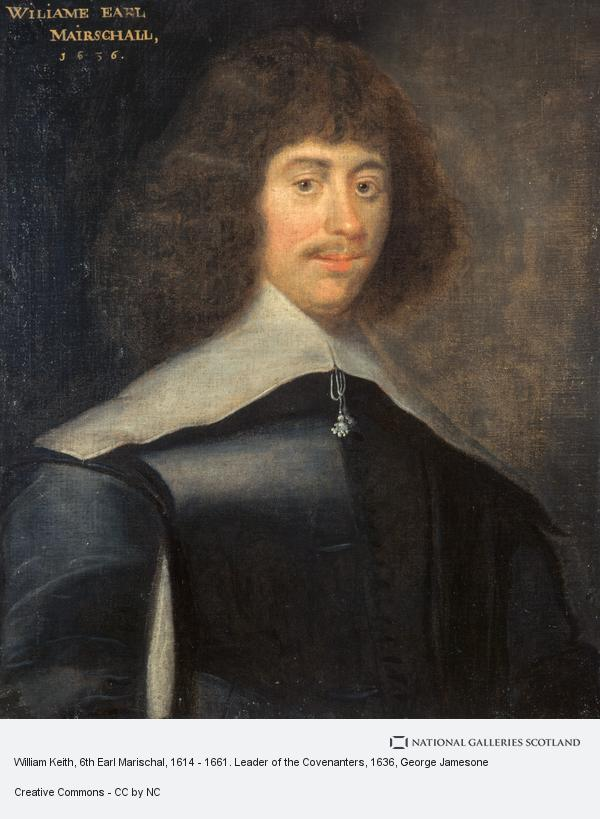 George Jamesone, William Keith, 6th Earl Marischal, 1614 - 1661. Leader of the Covenanters