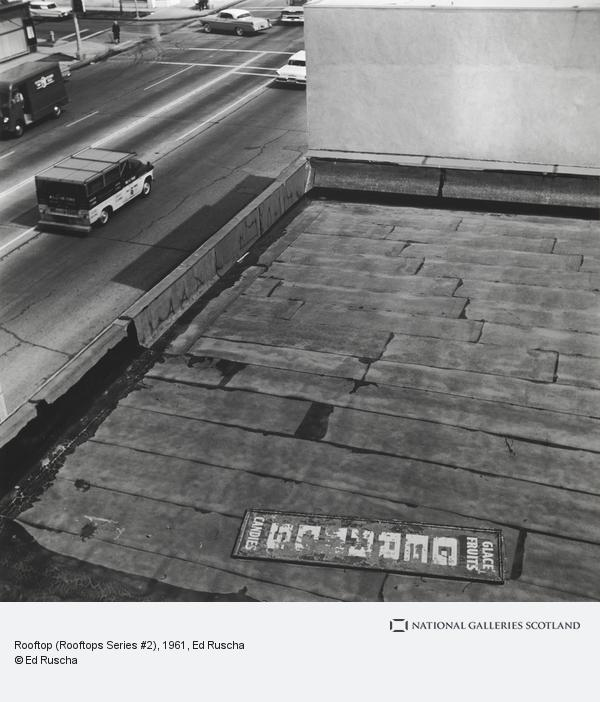 Ed Ruscha, Rooftop (Rooftops Series #2)
