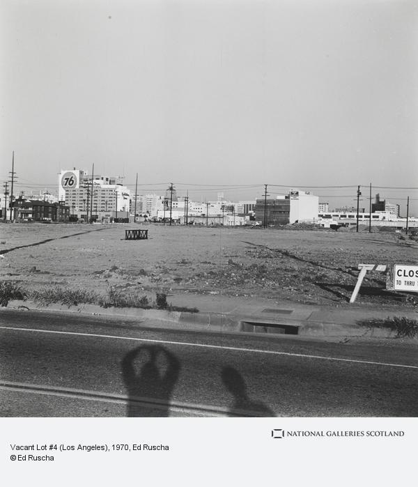 Ed Ruscha, Vacant Lot #4 (Los Angeles) (1970 / 2003)