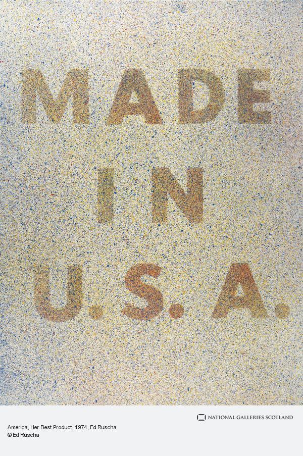 Ed Ruscha, America, Her Best Product