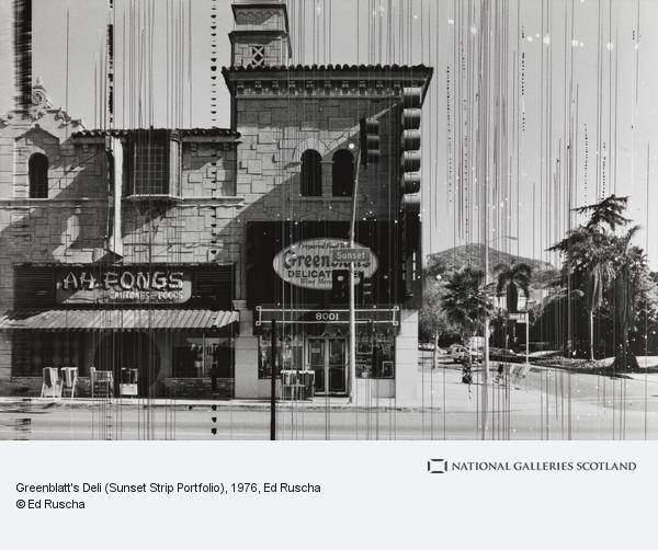 Ed Ruscha, Greenblatt's Deli (Sunset Strip Portfolio) (1976 / 1995)