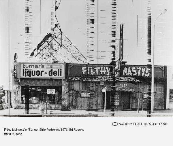 Ed Ruscha, Filthy McNasty's (Sunset Strip Portfolio)