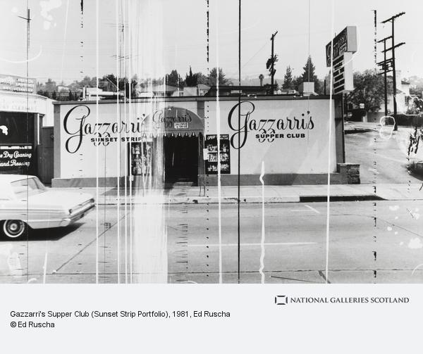 Ed Ruscha, Gazzarri's Supper Club (Sunset Strip Portfolio)