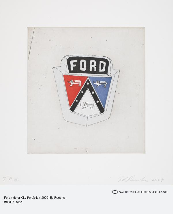 Ed Ruscha, Ford (Motor City Portfolio) (2009)